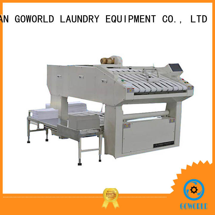 GOWORLD multifunction folding machine high speed for textile industries