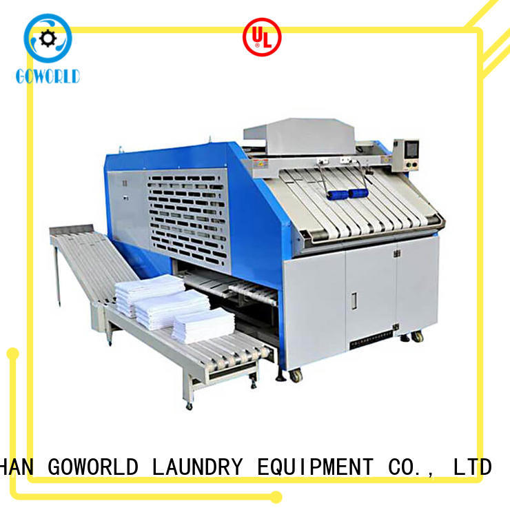 GOWORLD intelligent folding machine efficiency for medical engineering