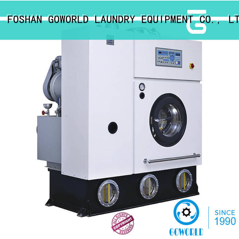 GOWORLD Brand 8kg14kg dry cleaning machine full factory