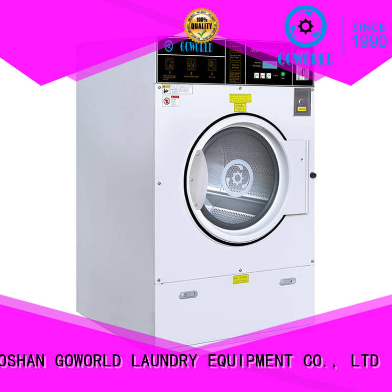 GOWORLD restaurants self service washing machine manufacturer for laundry shop