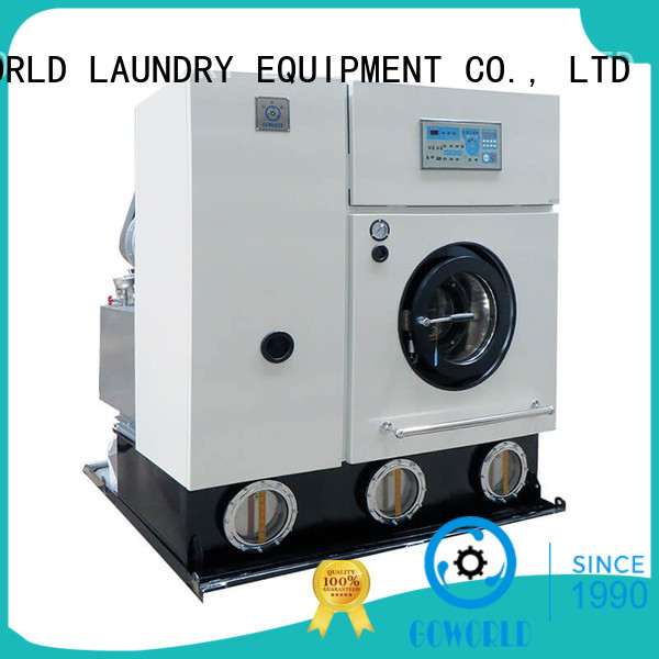 GOWORLD safe dry cleaning washing machine dry for railway company