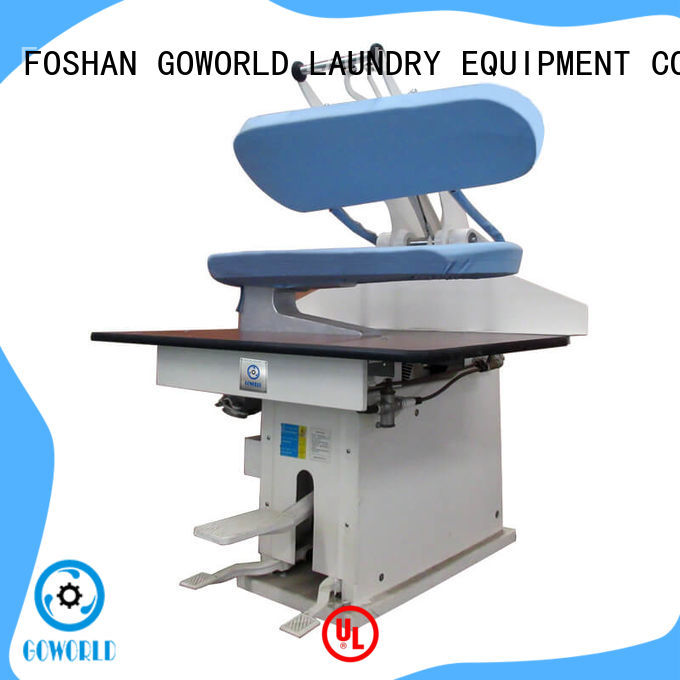GOWORLD multifunction industrial iron press machine directly sale for hospital