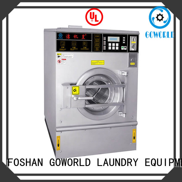 GOWORLD combo coin operated stackable washer and dryer Easy to operate for commercial laundromat