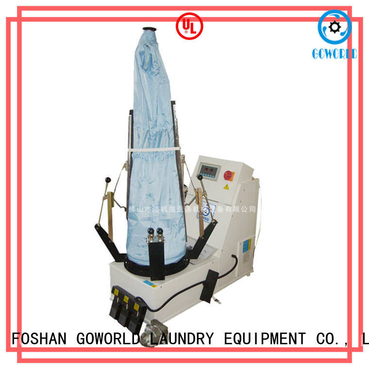GOWORLD practical industrial iron press machine directly sale for dry cleaning shops