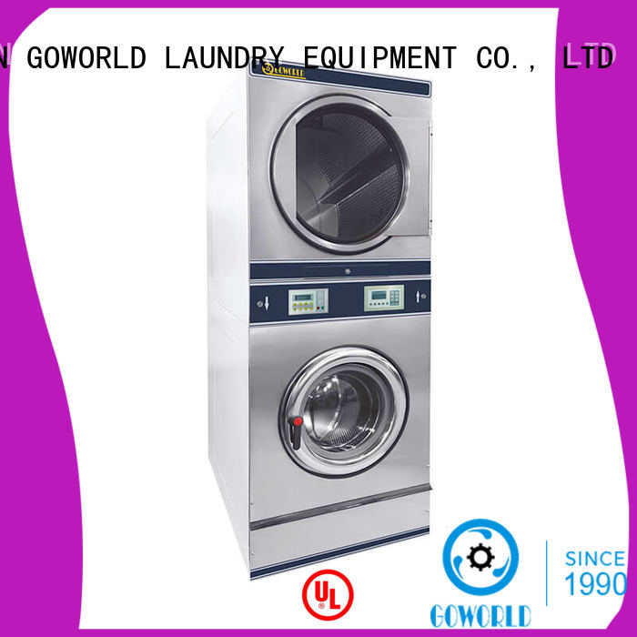dryer stacking washer dryer electric heating for fire brigade GOWORLD