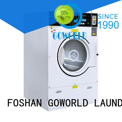 GOWORLD convenient self service laundry equipment natural gas heating for hotel