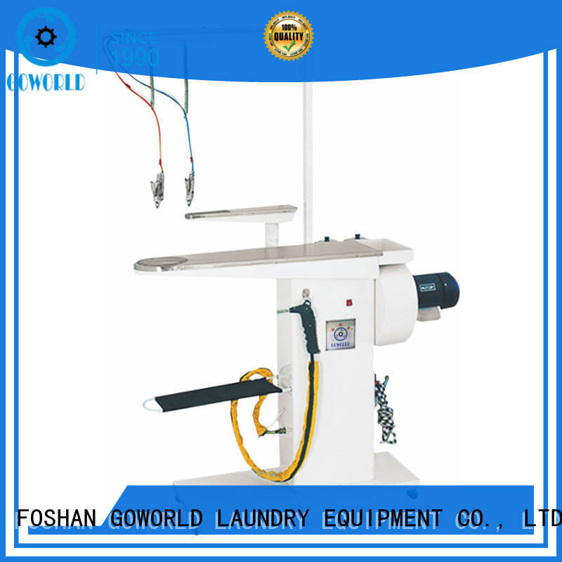GOWORLD package laundry conveyor good performance for Commercial laundromat