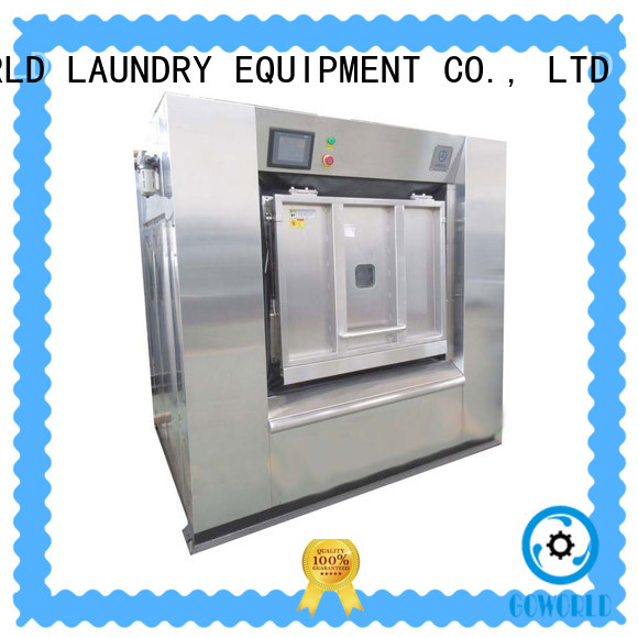 GOWORLD mount barrier washer extractor manufacturer for laundry plants