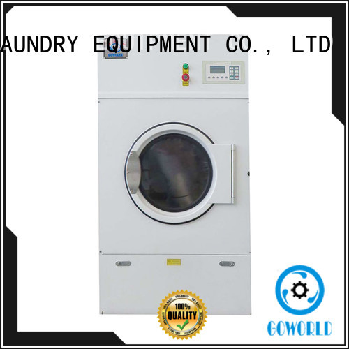 GOWORLD laundry tumble dryer machine simple installation for hospital