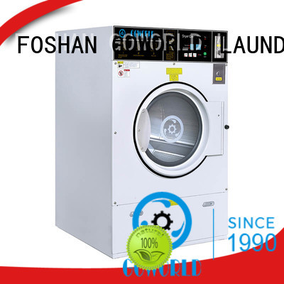 GOWORLD railway self service washing machine manufacturer for commercial laundromat