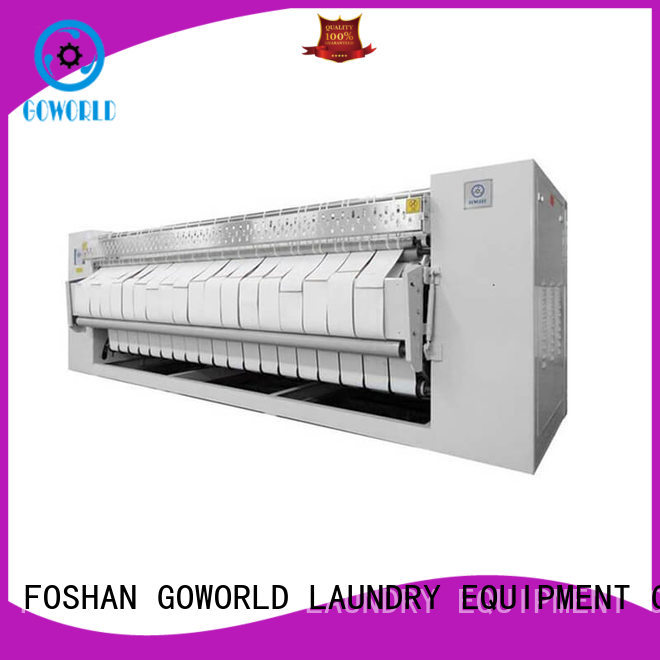 stainless steel commercial ironer easy use for hotel GOWORLD