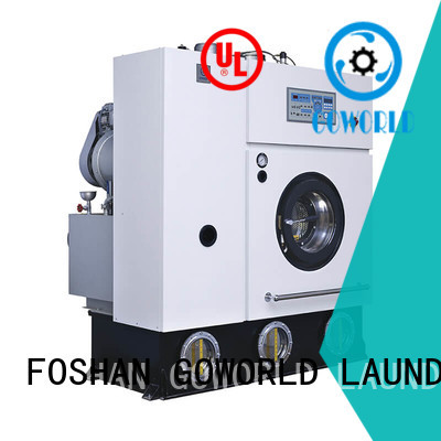 GOWORLD textile dry cleaning washing machine environment friendly for railway company