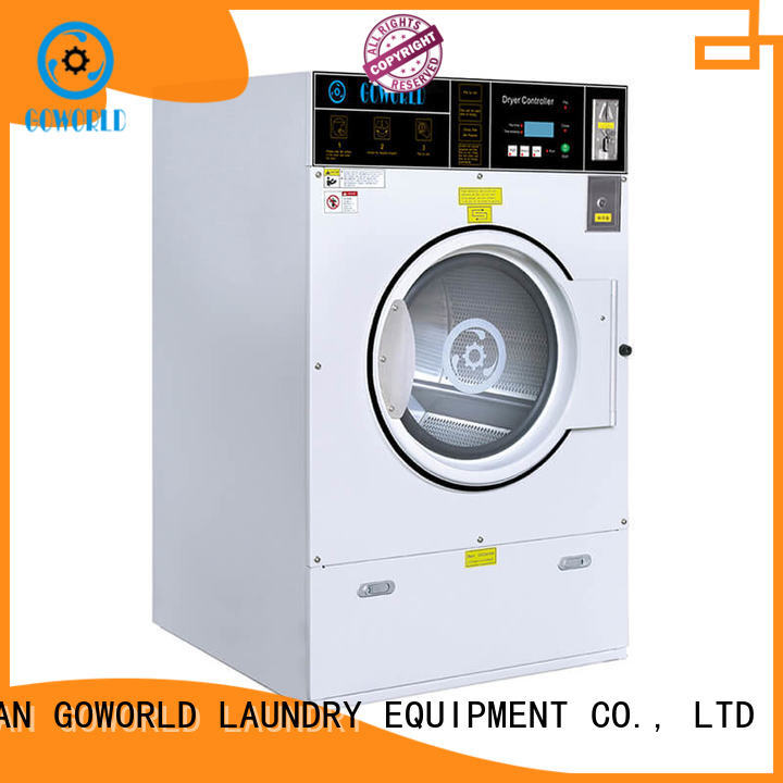 GOWORLD self service laundry equipment natural gas heating for service-service center