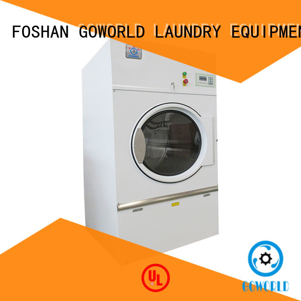 8kg150kg tumble dryer machine low noise for laundry plants GOWORLD