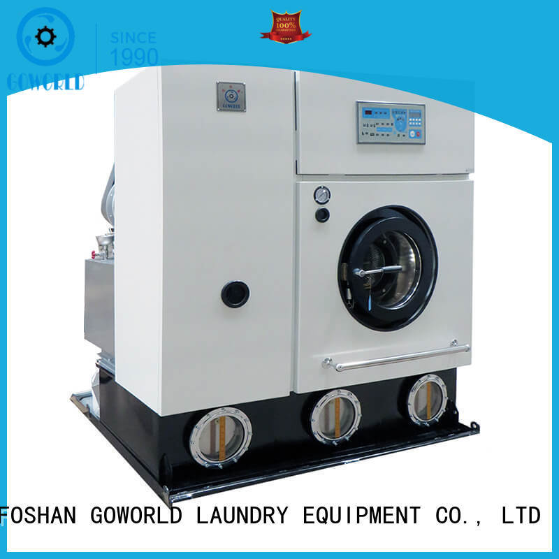 GOWORLD railway dry cleaning equipment for textile industries