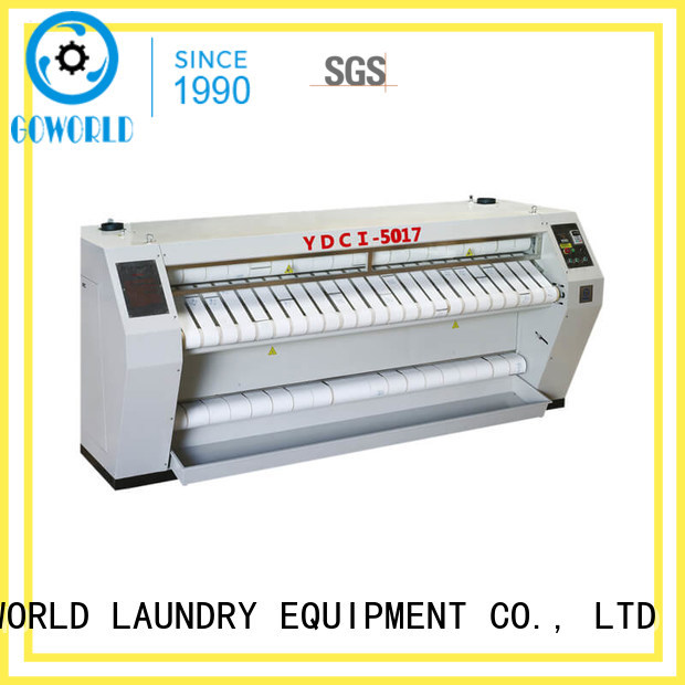 GOWORLD high quality commercial ironer bed laundry shop