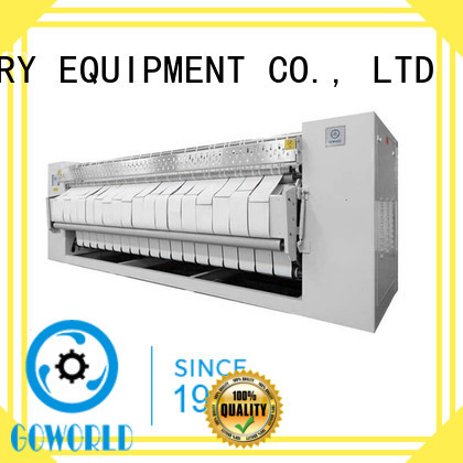 GOWORLD gas flat roll ironer easy use for textile industries