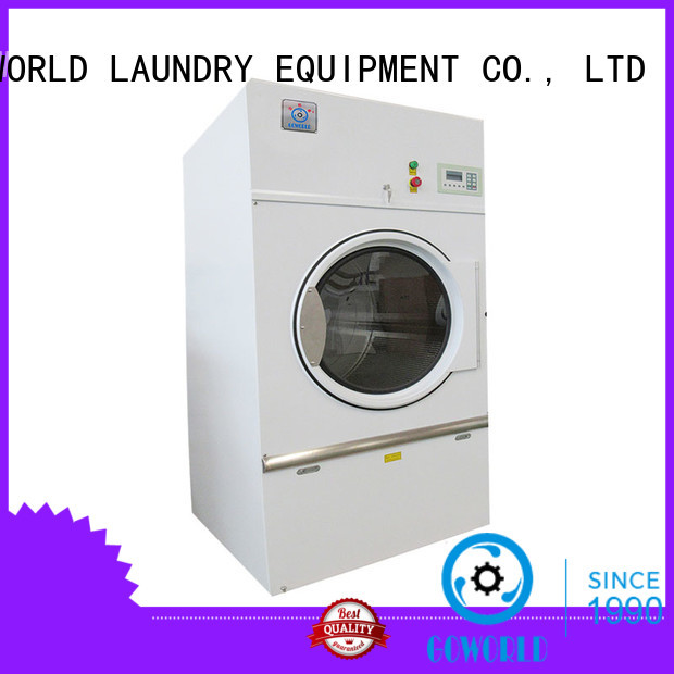 GOWORLD steam gas tumble dryer easy use for laundry plants