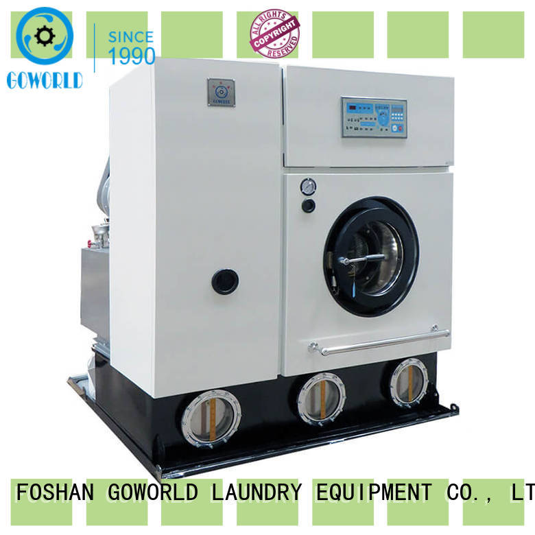 GOWORLD dry cleaning washing machine Easy operated for hotel