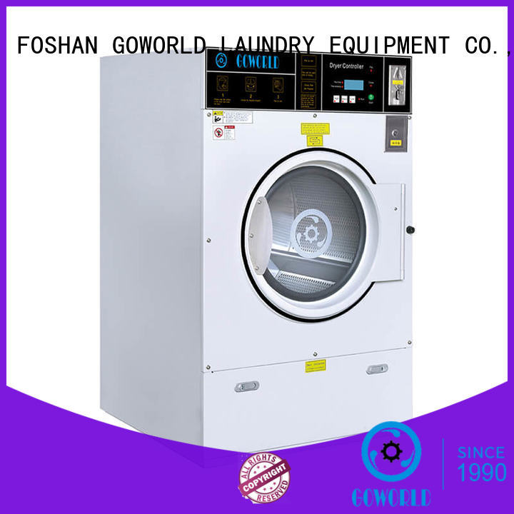 GOWORLD laundry self-service laundry machine manufacturer for hotel