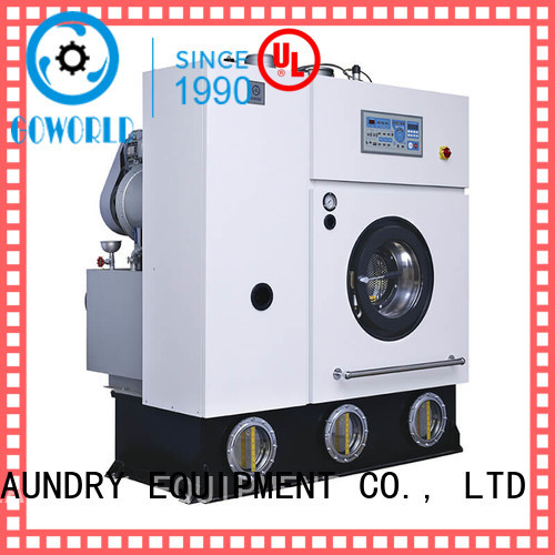 GOWORLD suit dry cleaning machine textile for laundry shop