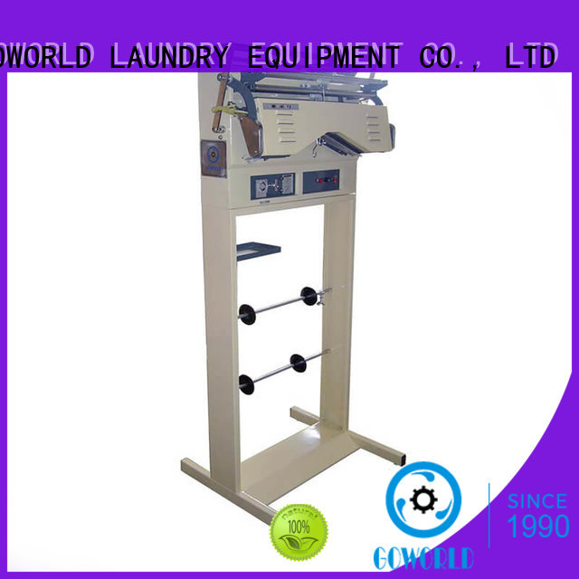 GOWORLD line laundry packing machine good performance for railway company