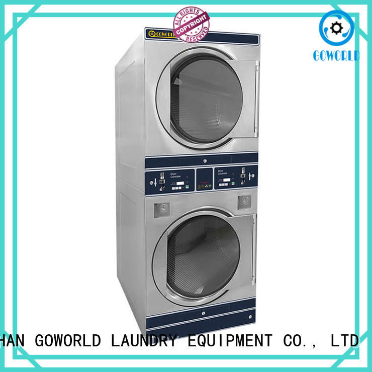 GOWORLD laundry self laundry machine electric heating for service-service center