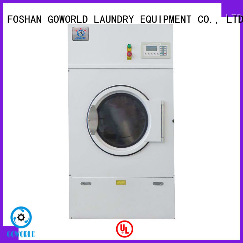 GOWORLD standard tumble dryer machine for high grade clothes for inns