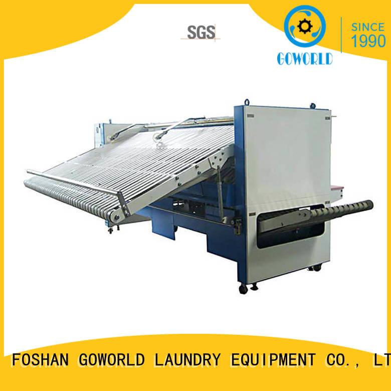 fabric folding machine textile bath industrieslaundry Warranty GOWORLD