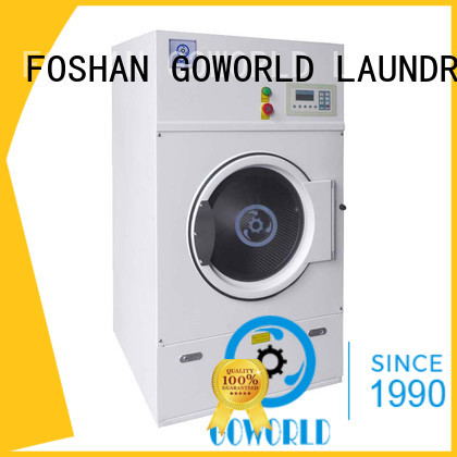GOWORLD standard laundry dryer machine easy use for hotel