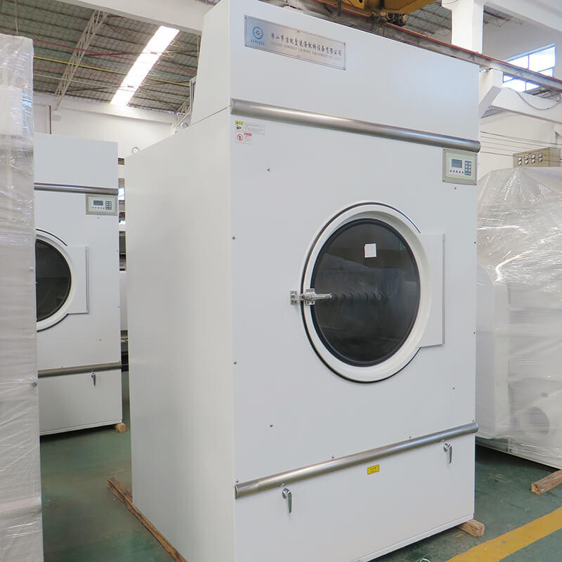 safe industrial tumble dryer commercial for drying laundry cloth for hotel-3