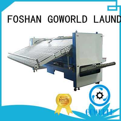 bed automatic towel folding machine multifunctional for laundry factory GOWORLD
