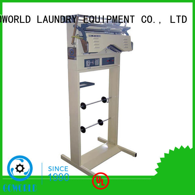 GOWORLD shirts laundry packing machine for sale for railway company