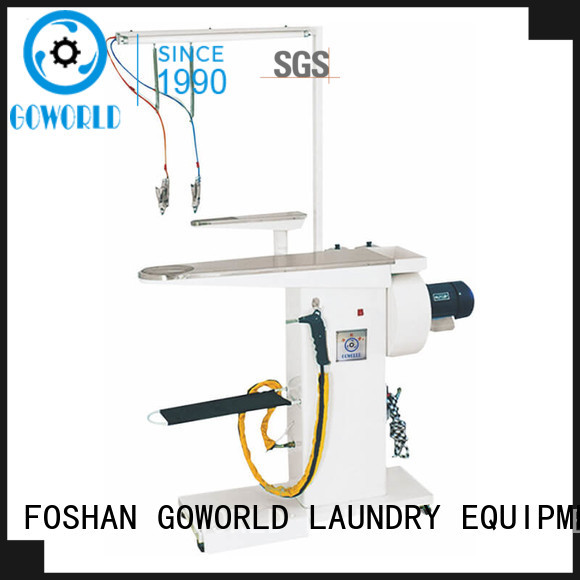 GOWORLD spotting laundry conveyor simple operate for restaurants