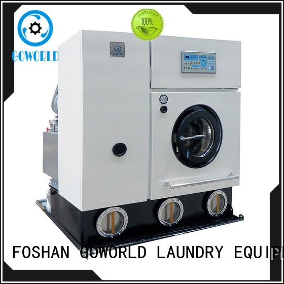 GOWORLD clothes dry cleaning machine for railway company