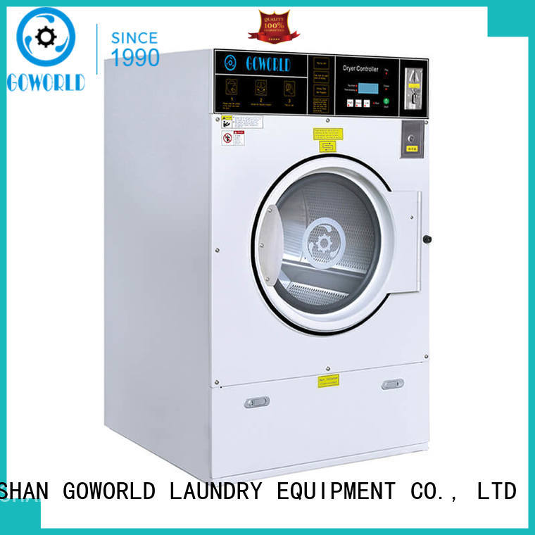 GOWORLD dryer self service laundry equipment for sale for commercial laundromat