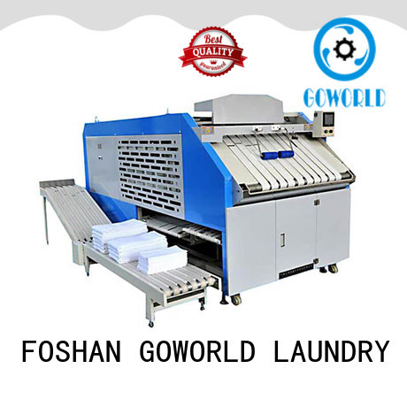 GOWORLD intelligent towel folder intelligent control system for laundry factory