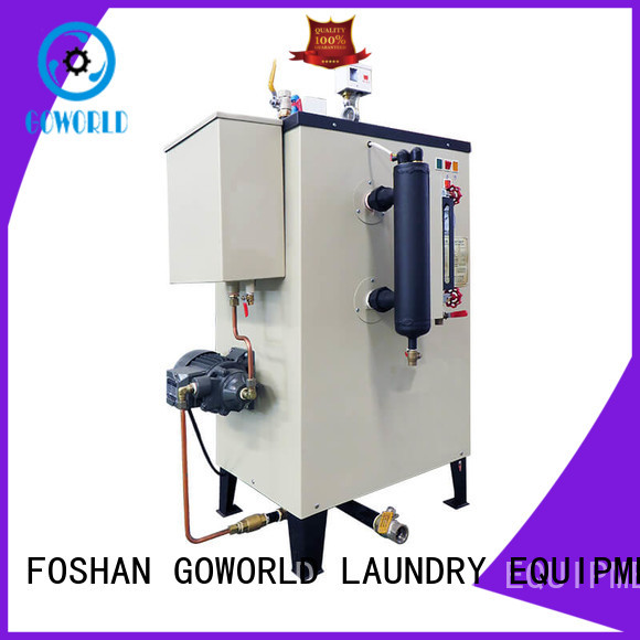 GOWORLD machine laundry steam boiler low noise for fire brigade