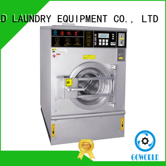 GOWORLD commercial washer and dryer for laundromat double for school