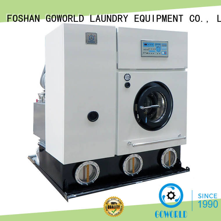 railway commercial dry cleaning machine shop for hotel GOWORLD