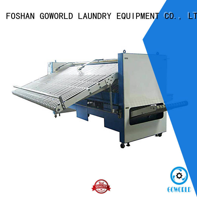 intelligent automatic towel folder folding high speed for textile industries