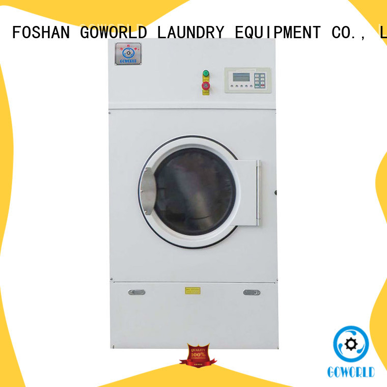 GOWORLD steam laundry dryer machine low noise for laundry plants