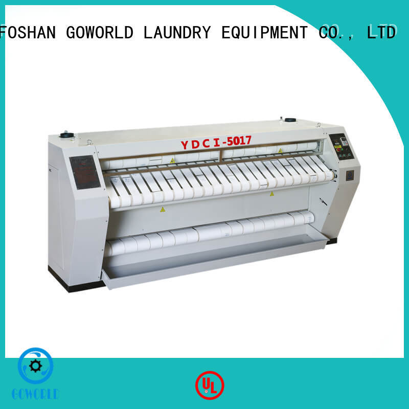 GOWORLD heat proof ironer machine for sale for inns