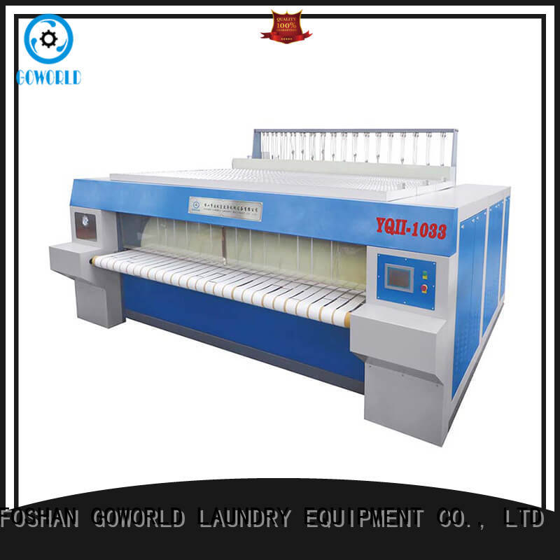 heat proof flat work ironer machine hospital free installation for inns