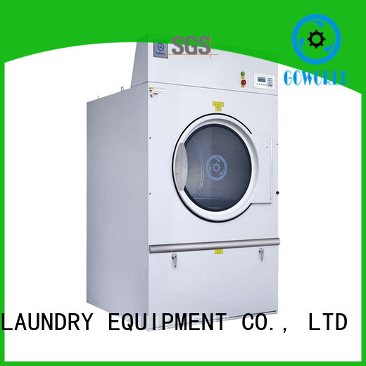 GOWORLD Stainless steel industrial tumble dryer low noise for hotel