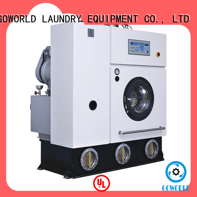 GOWORLD clothes dry cleaning machine environment friendly for railway company