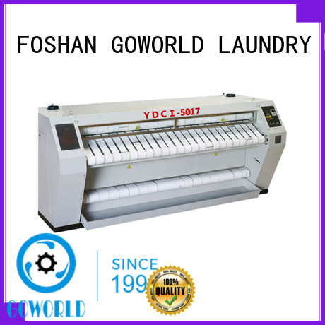 machine roller heating GOWORLD Brand flatwork ironer