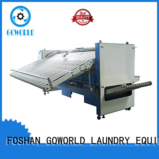 GOWORLD multifunctional automatic towel folding machine high speed for textile industries
