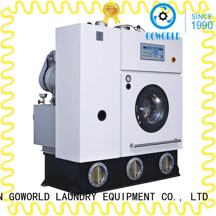 GOWORLD dry dry cleaning machine energy saving for railway company