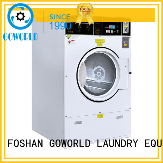 GOWORLD automatic self laundry machine Easy to operate for commercial laundromat